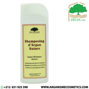 argan shampoing
