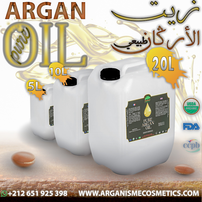 Moroccan Organic bulk argan Oil